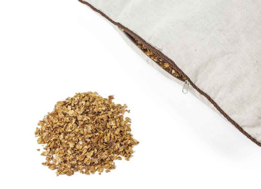 подушка гречиха и кедровые орешки