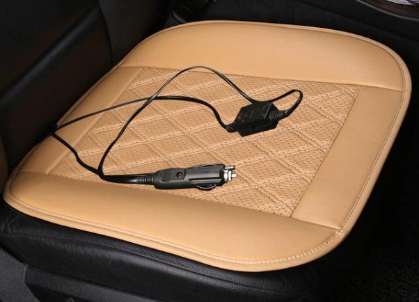 подушка в авто с подогревом