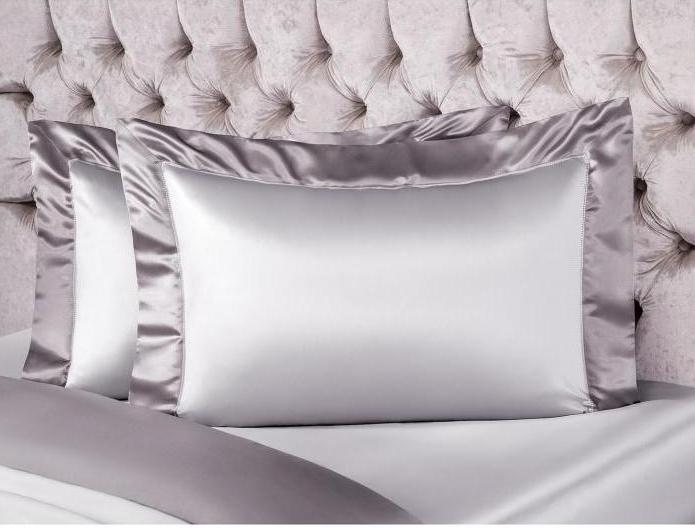 подушки шелк