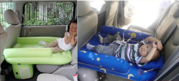 Надувной матрас в машину детский