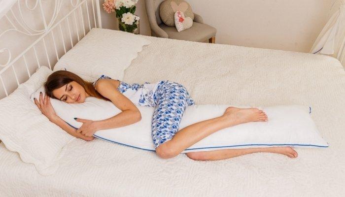 прямая подушка для беременных