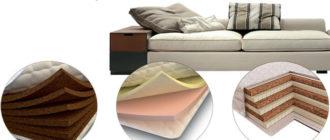 Набивка мягкой мебели