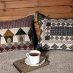Пэчворк подушки: с аппликацией, для дивана, техники изготовления